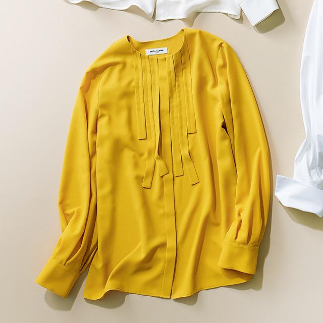 シャツ&ブラウス 黄色