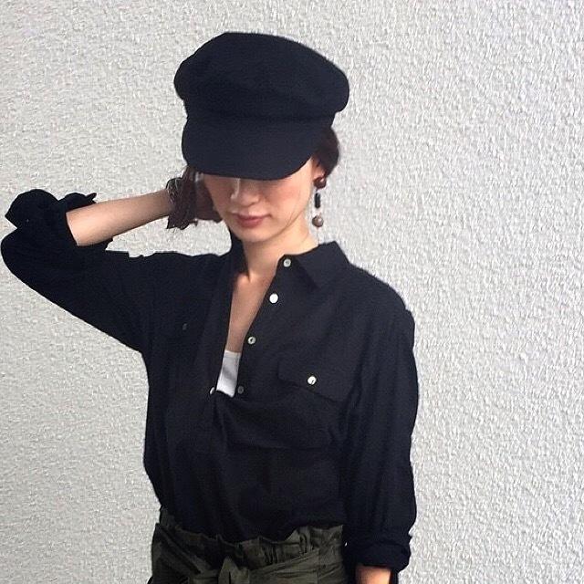 やっぱり素敵に黒を着たい。コーディネイト_1_5