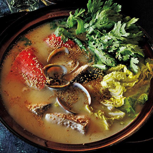酒粕魚介鍋
