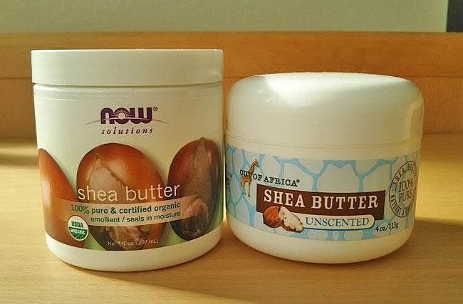保湿成分たっぷりのシアバター。未精製と精製を使い比べ。どっちがお好み?_1_1