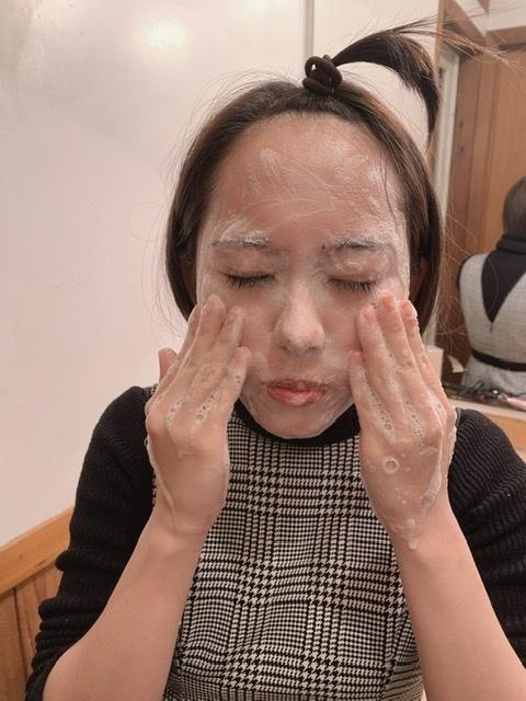 【メイク落としの過程全見せ】敏感肌さんもすべすべに♡Khiel'sでクレンジングと洗顔が1本に_1_7