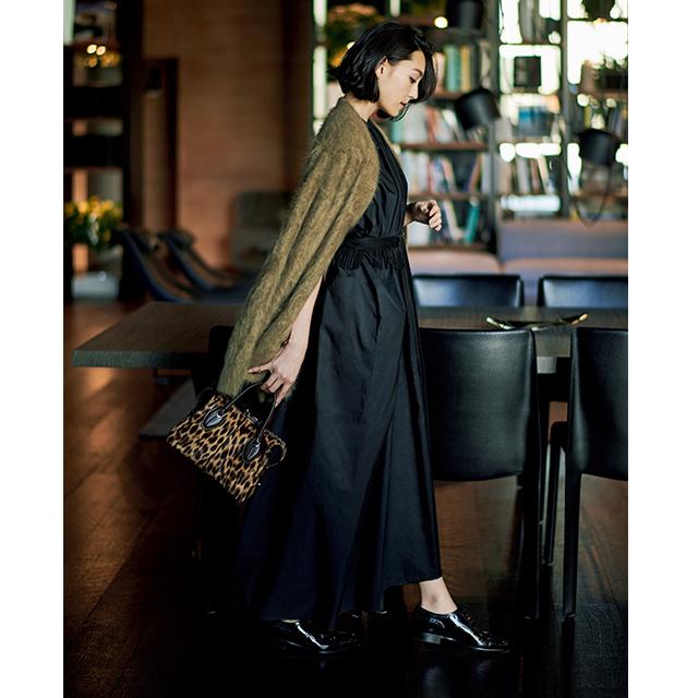 旬なムードが魅力!大人の切り札「リトル ブラック&ブラウン ドレス」 五選_1_3