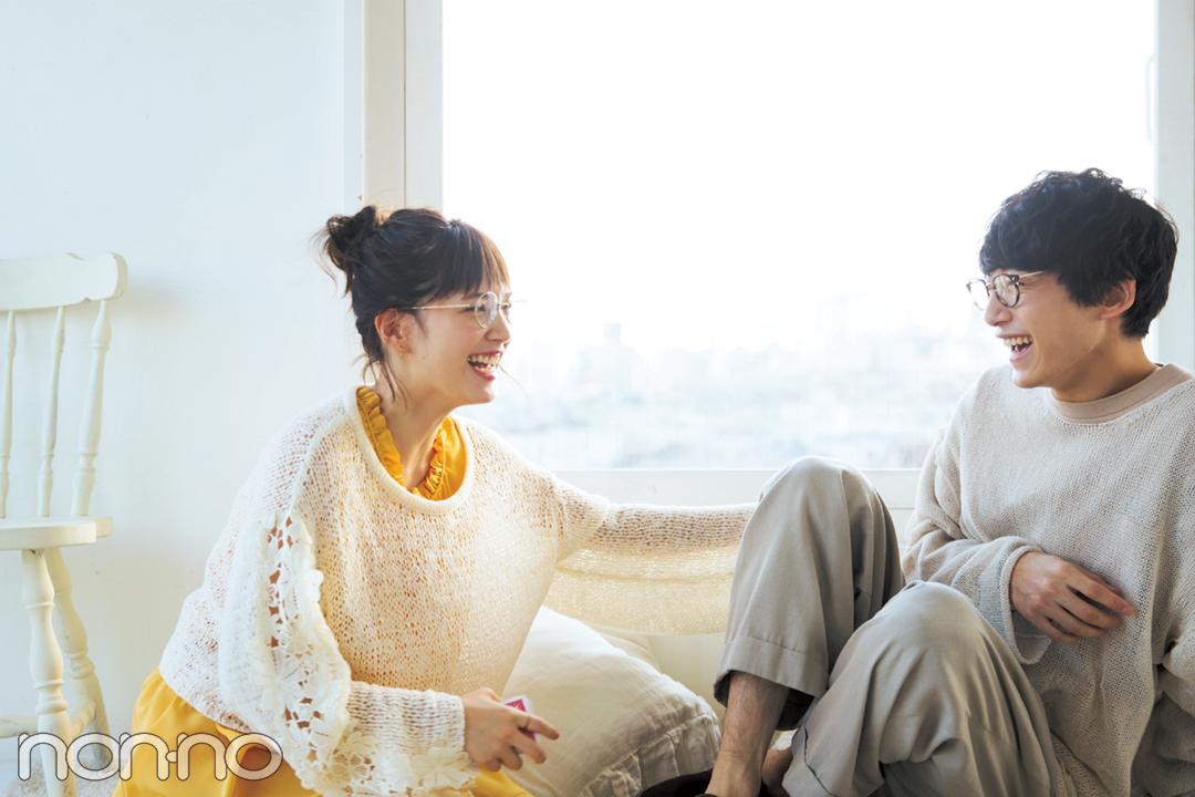 本田翼× 坂口健太郎スペシャル対談♡ 愛されキャラの2人の秘密は…?_1_3-3