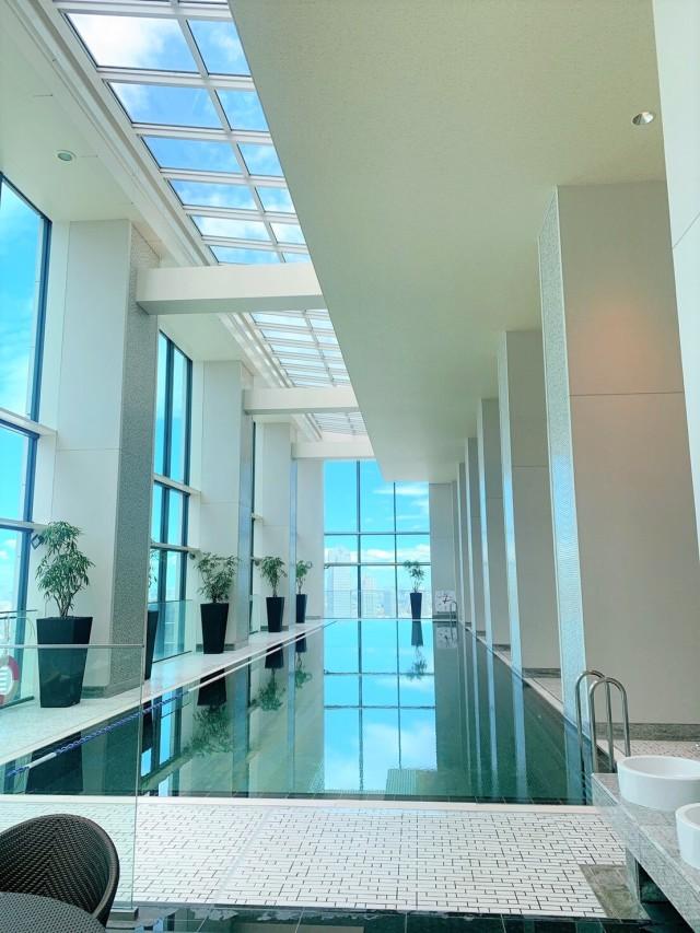 CONRAD東京 水月SPA&Fitness♡太陽光が差し込む、解放感に溢れる空間で♪_1_8