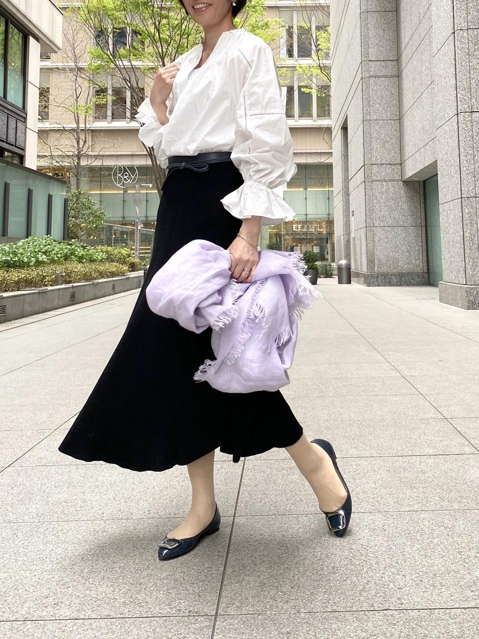 MUSE de Deuxieme Classe黒スカートコーデ②