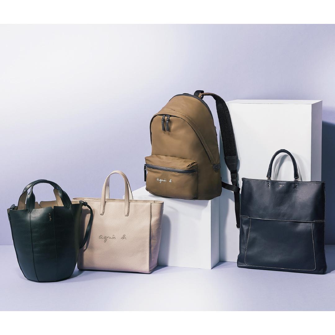 アニエスベーのバッグ、大学生の通学&社会人の通勤に似合うのはコレ!【20歳からの名品】_1_2
