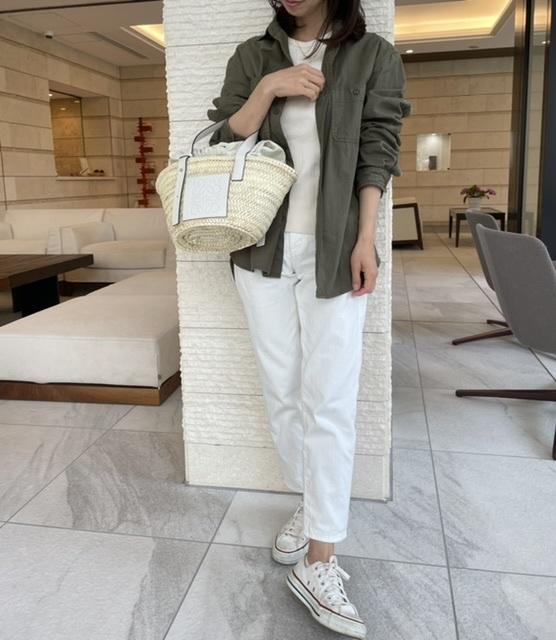 【ユニクロ】私の次世代パンツはホワイトテーパードデニム_1_3-1