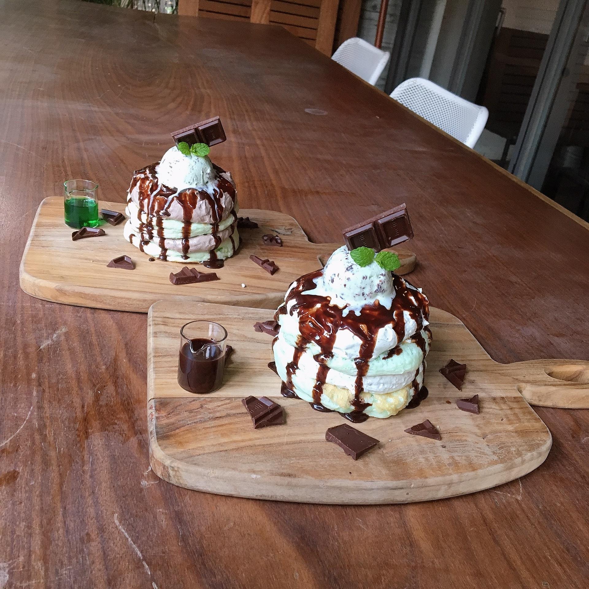 【チョコミン党必見★】512cafe&grillのパンケーキが美味しすぎ♡_1_2