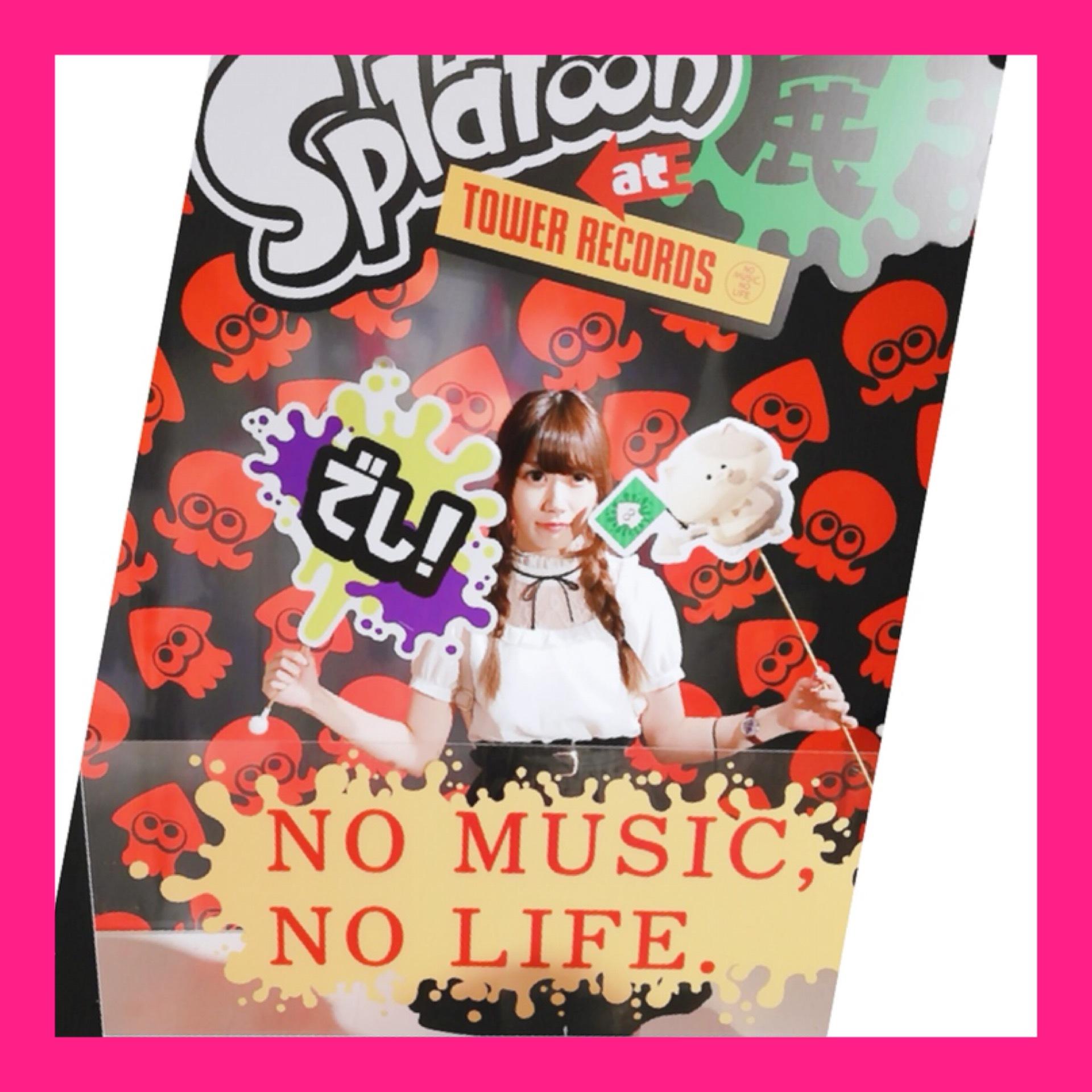 【Splatoon展】Shibuyaタワレコに行ってきました♡_1_2-2