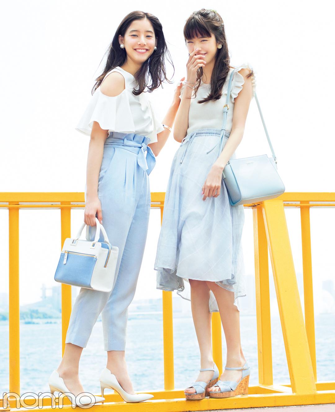 男子モテも女子モテもOK★夏の「白×ブルー」コーデ最新はコチラ!_1_3