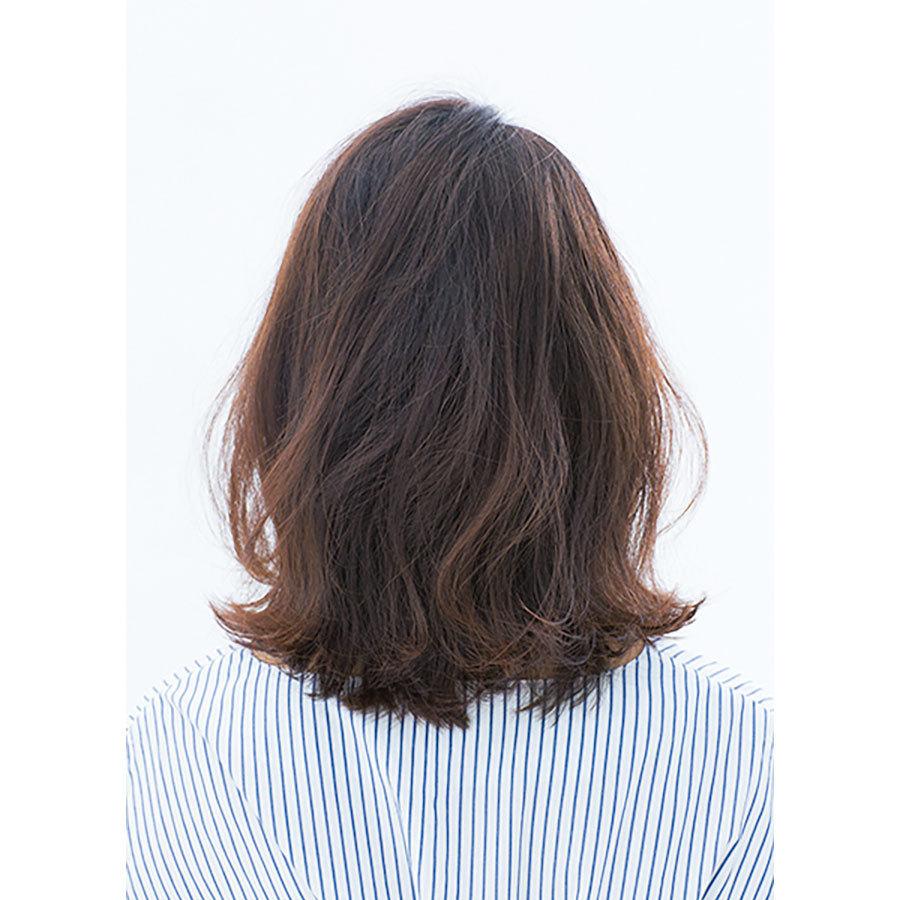 後ろから見た 40代人気髪型ヘアスタイル5位