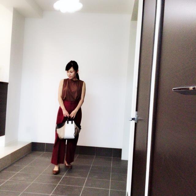 バッグも秋色に。ロエベのハンモックバッグに一目惚れ♡_1_1-4