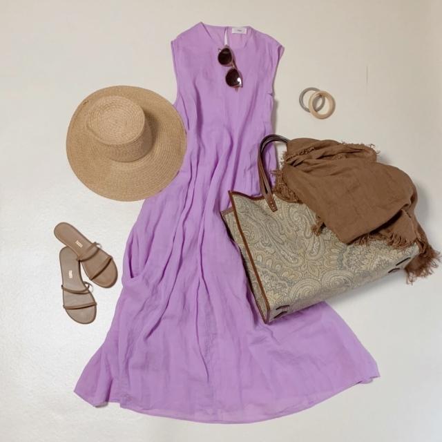 夏のブラウンで品よくこなれる! 大人のプチプラ高見えも叶えるブラウンコーデまとめ 40代ファッション_1_30