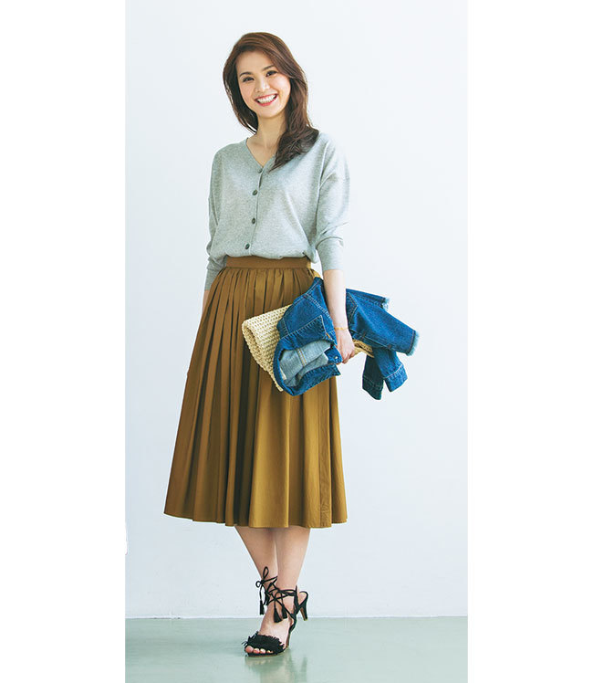 目指せすっきり見せ! 大きめさんのふんわりスカート選び_1_2