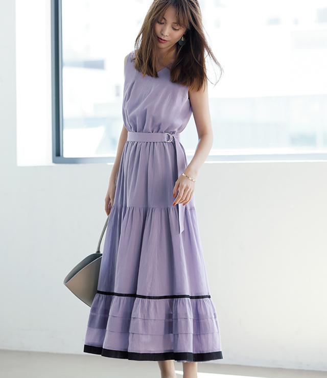 ジャスグリッティーで初夏コーデに華やぎを 今こそ、大人の「着映え服」を手に入れよう_1_2