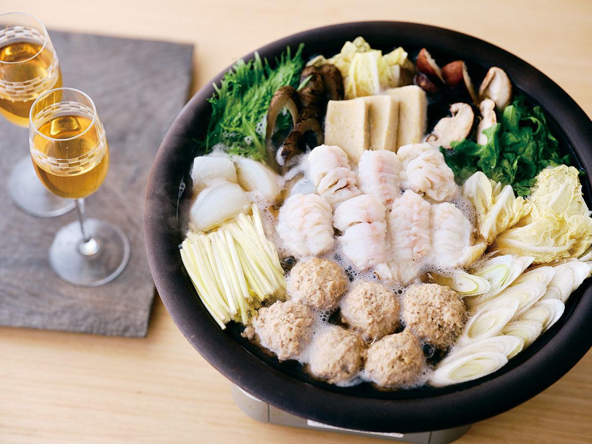 「じき宮ざわ」の特製伝助穴子の薬膳鍋