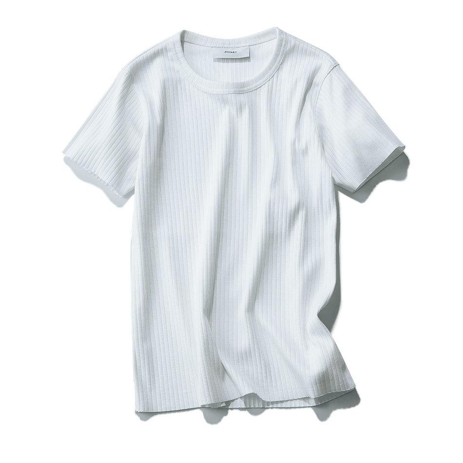 おしゃれプロがリコメンド!スカートに合う「リブTシャツ」_1_1-2