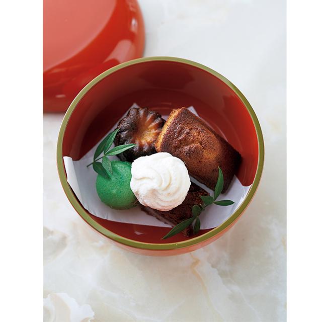 京都の梅小路京都西にあるカフェ「西洋茶屋 山本」の焼き菓子