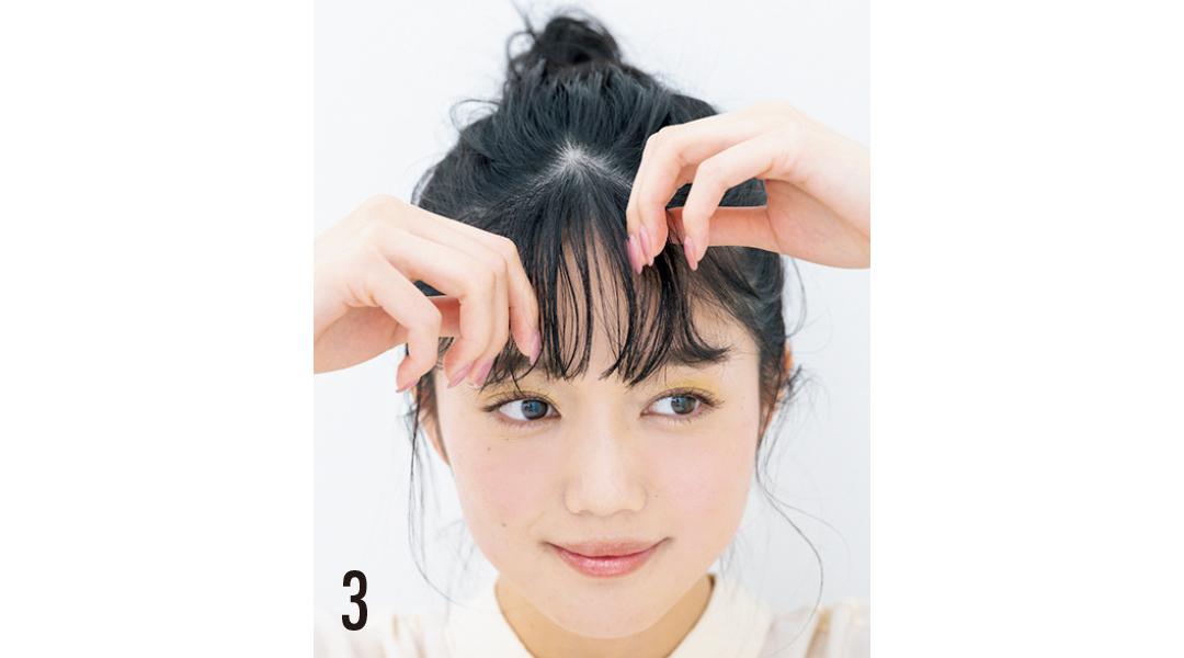 """ヘア崩さない女子の""""うねらない""""前髪ブロー&スタイリング超ていねい解説!_1_10"""