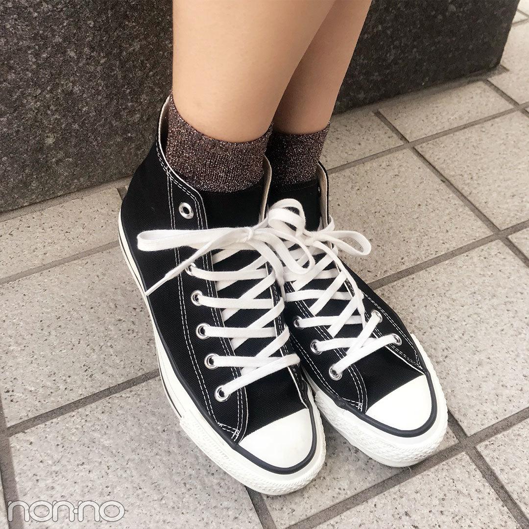 鈴木優華はユニクロのマーメイドスカートにフルラのバッグをオン!【モデルの私服スナップ】_1_2-2