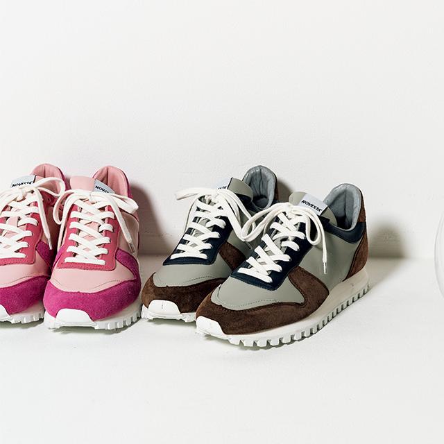 靴 各¥38,500(ノヴェスタ フォー ドゥロワー)/ドゥロワー 六本木店
