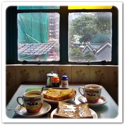 Good morning!老舗香港式カフェで朝食を♡_1_4