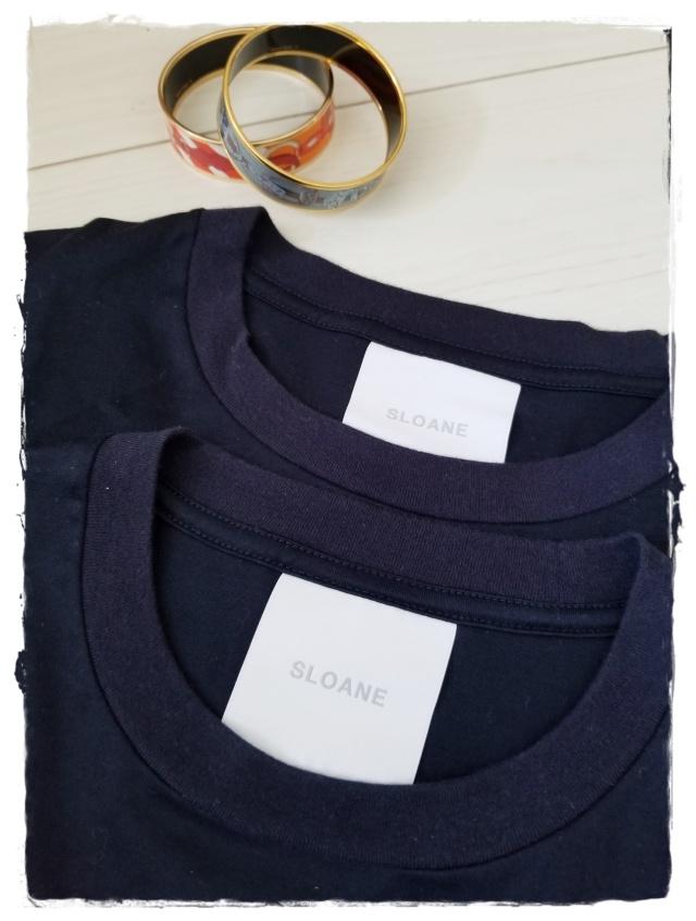 SLOANEのコットンTシャツを夫婦お揃いで♪_1_1