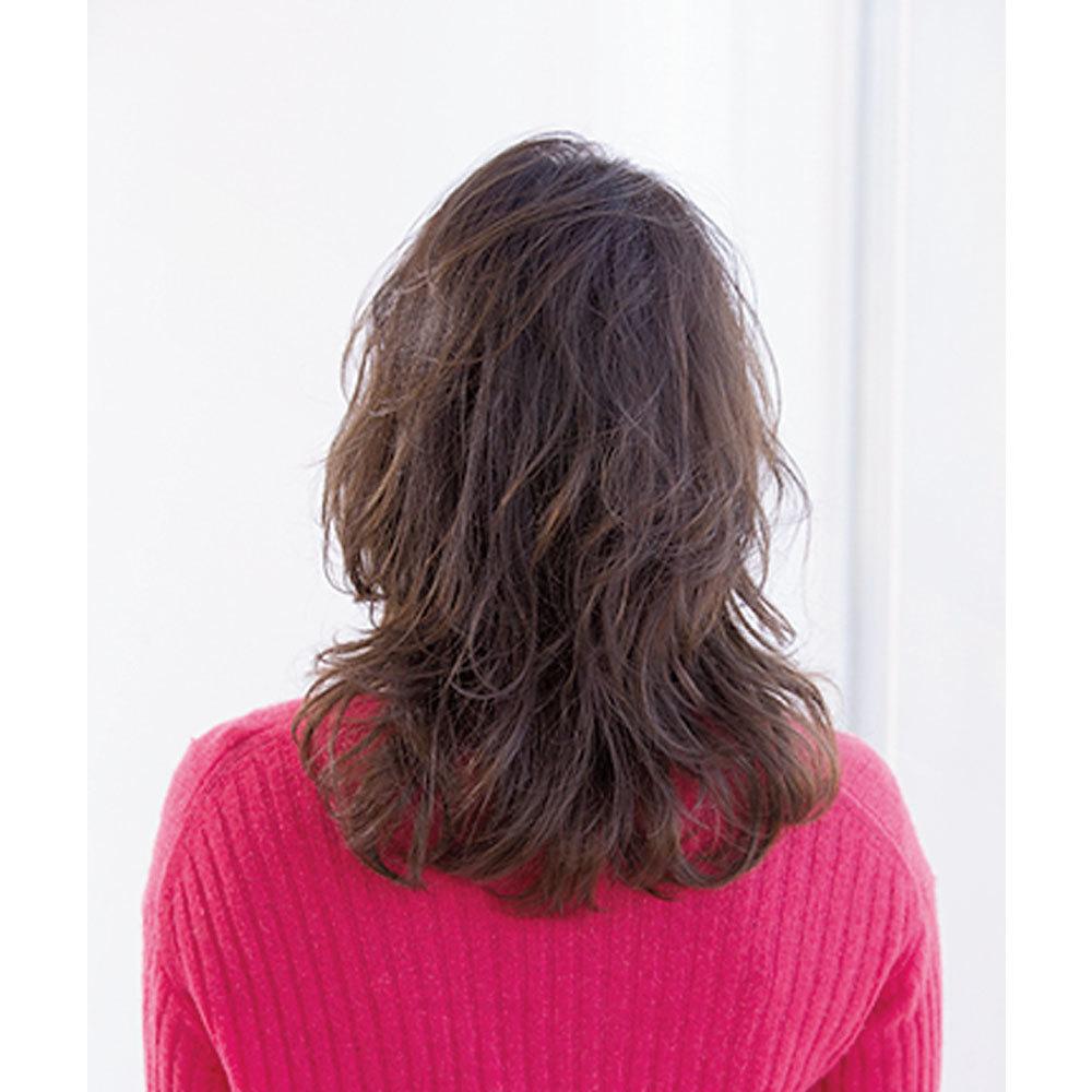トレンドのレイヤーを駆使して華やかなふんわり髪に【40代のロングヘア】_1_1-3