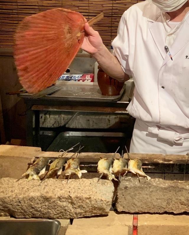 葉山 日影茶屋 鮎 鮎を食べる夕べ