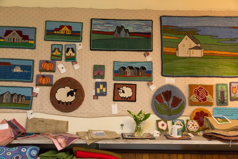 美しい手仕事「ラグ・フッキング」に魅了されて【大人の食欲と好奇心を満たす、カナダ/プリンス・エドワード島⑥】 _1_3-3