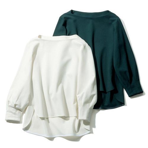 「地曳いく子×éclat」タックスリーブプルオーバー&アイレットレーススカートが大人の女性に最適!_1_2