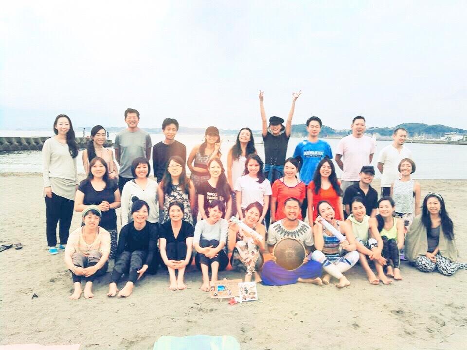 今年最後のビーチヨガ_1_3