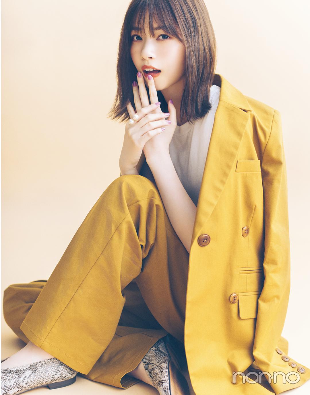 秋ファッションで魅せるモデルの顔。 西野七瀬フォトギャラリー_1_3