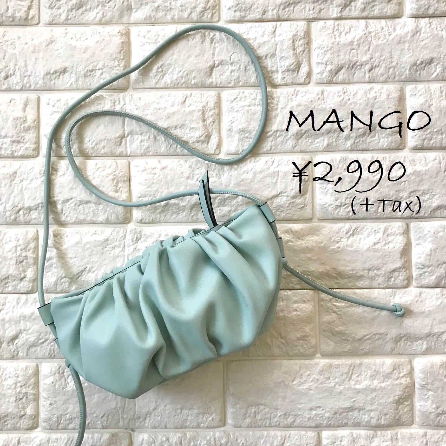 マンゴーのバッグ