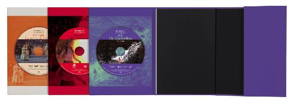 最良の教養としてのモーツァルト3大オペラ(Blu-ray3枚付き)