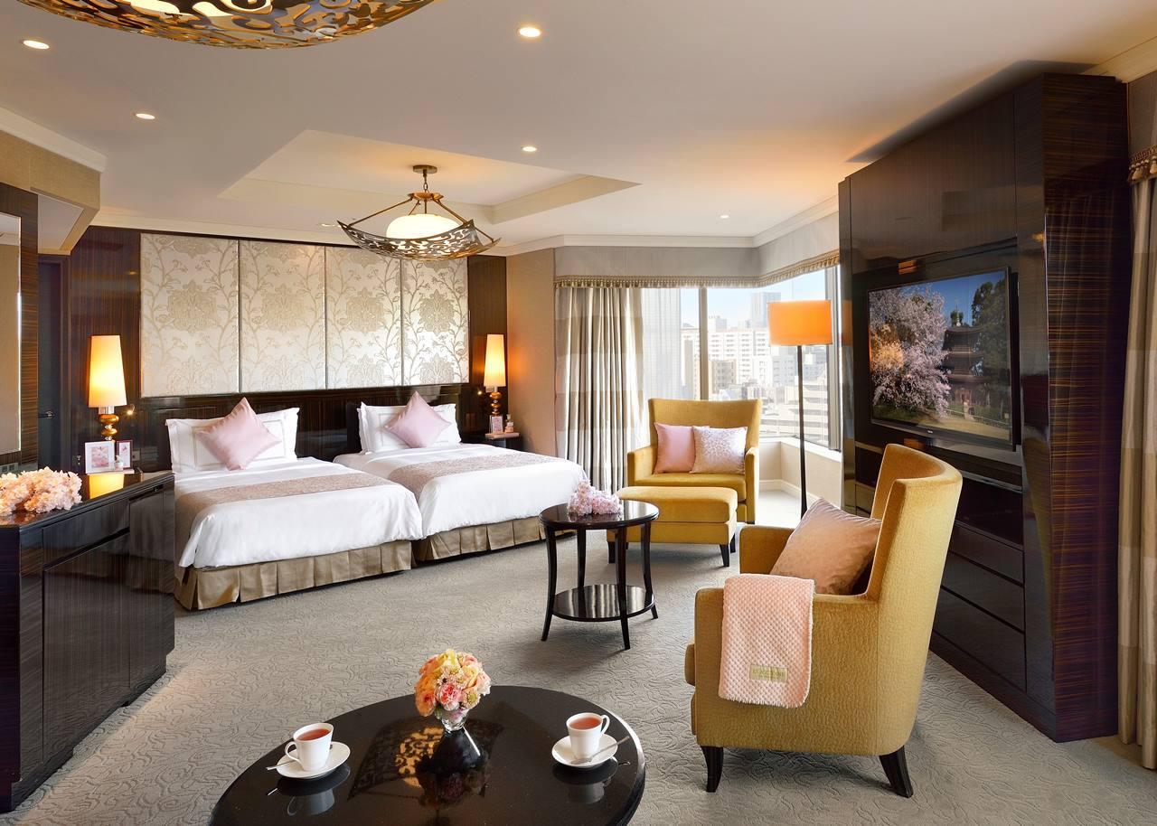 ホテル椿山荘東京とL'OCCITANE(ロクシタン)のコラボプラン「チェリーブロッサムルーム」