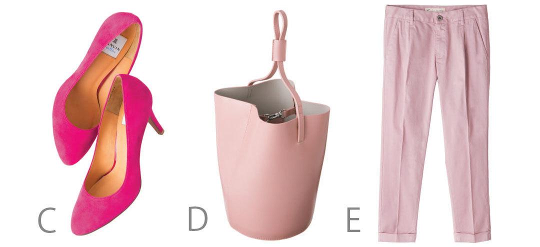 春の3大トレンドカラー、本命「ピンク」を甘すぎずに着るコツは?_1_2