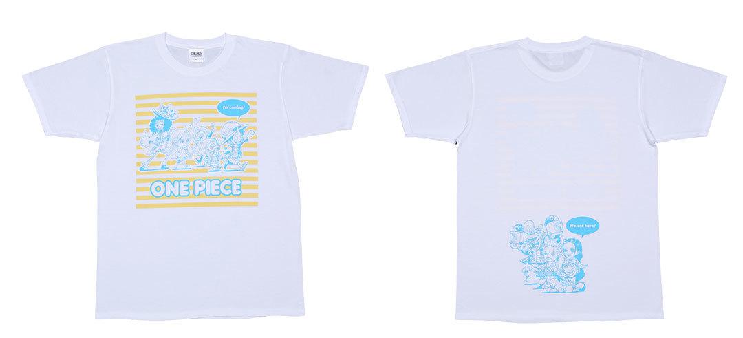 女子が着ると可愛い男子Tプレゼント♡ 『ONE PIECE』『ハイキュー!!』『東京喰種 トーキョーグール:re』のTシャツを計6名様に!_1_2
