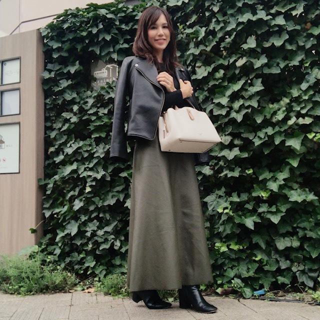 【エコレザー】のスカート&パンツで、冬コーデの鮮度がアップ! 40代ファッションまとめ_1_45