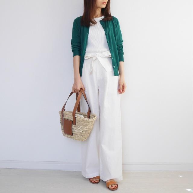 5月の着まわしDiary!「羽織りはどうする?」着るだけ簡単UVカット!_1_2