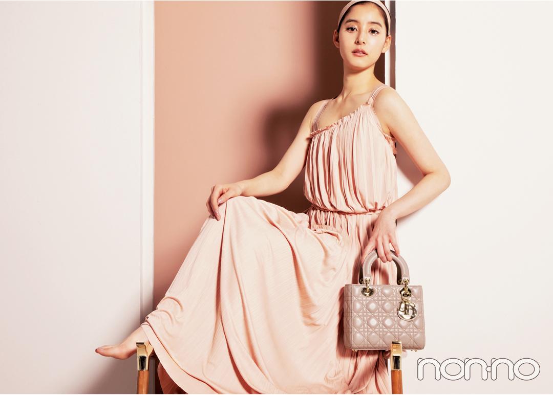 新木優子×Diorのバッグ♡ 初めてのブランドバッグにも!【20歳からの名品】_1_2