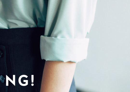 素敵に見えるシャツの着こなし方TIPS★どうやる?「ロールアップ」_1_3-2
