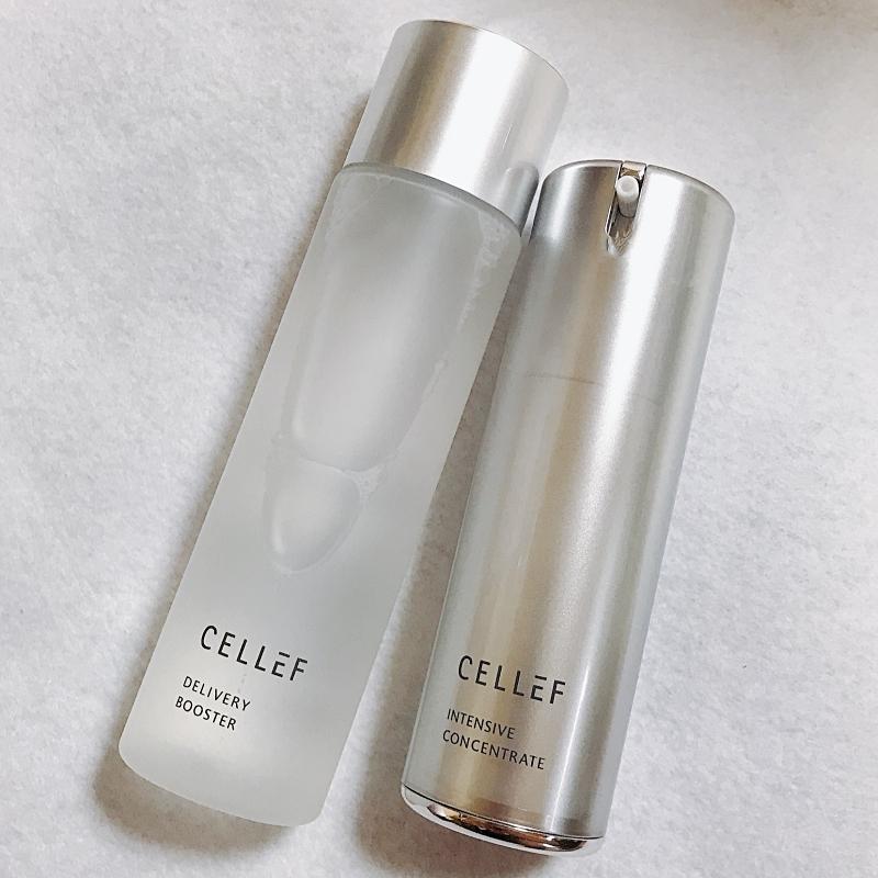 セルエフの化粧水とセラム