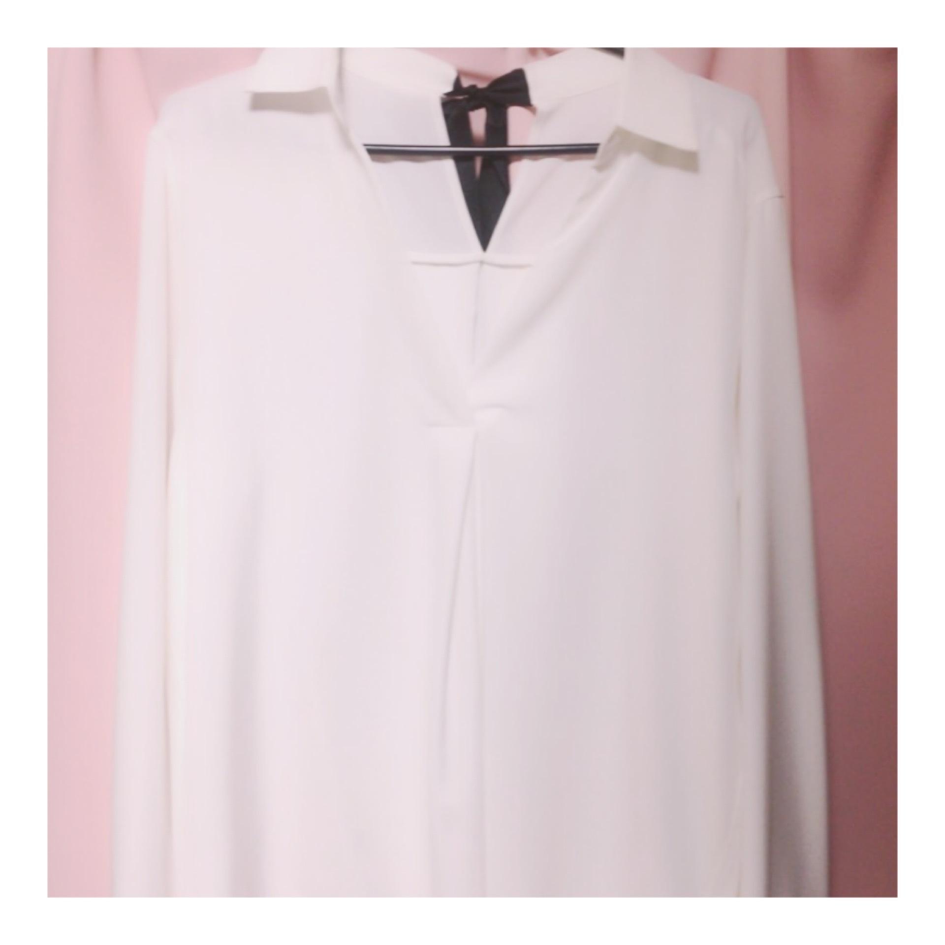 スキッパーシャツ+バックデザイン♩《INGNI リボンスキッパーシャツ》_1_3