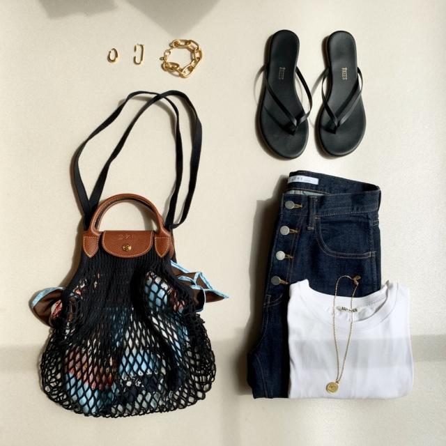 【新作】ロンシャンの春夏バッグに一目惚れ。_1_7