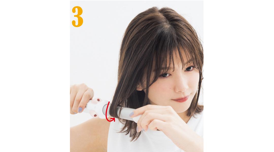 渡邉理佐が実践★ ボブの巻き髪、好印象ヘアの正しい作り方&NG例_1_4-3