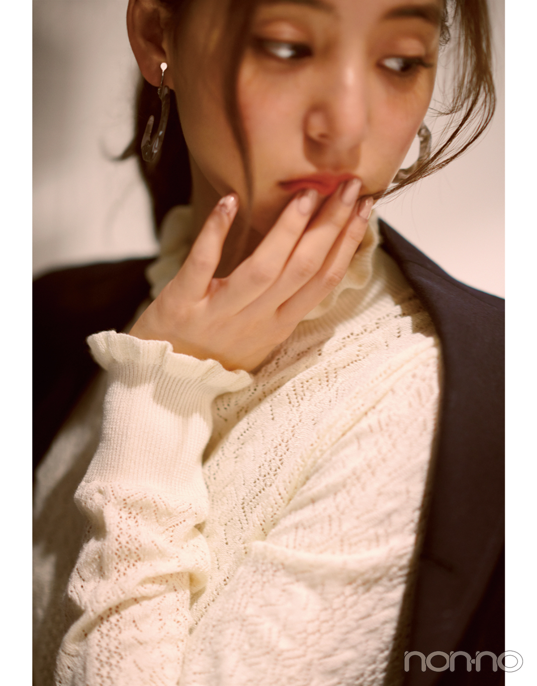 新木優子の恋とニットの物語♡ 「君」は先輩からの告白を受ける?【ニットを着るなら、エモいほう。vol.5】_1_5