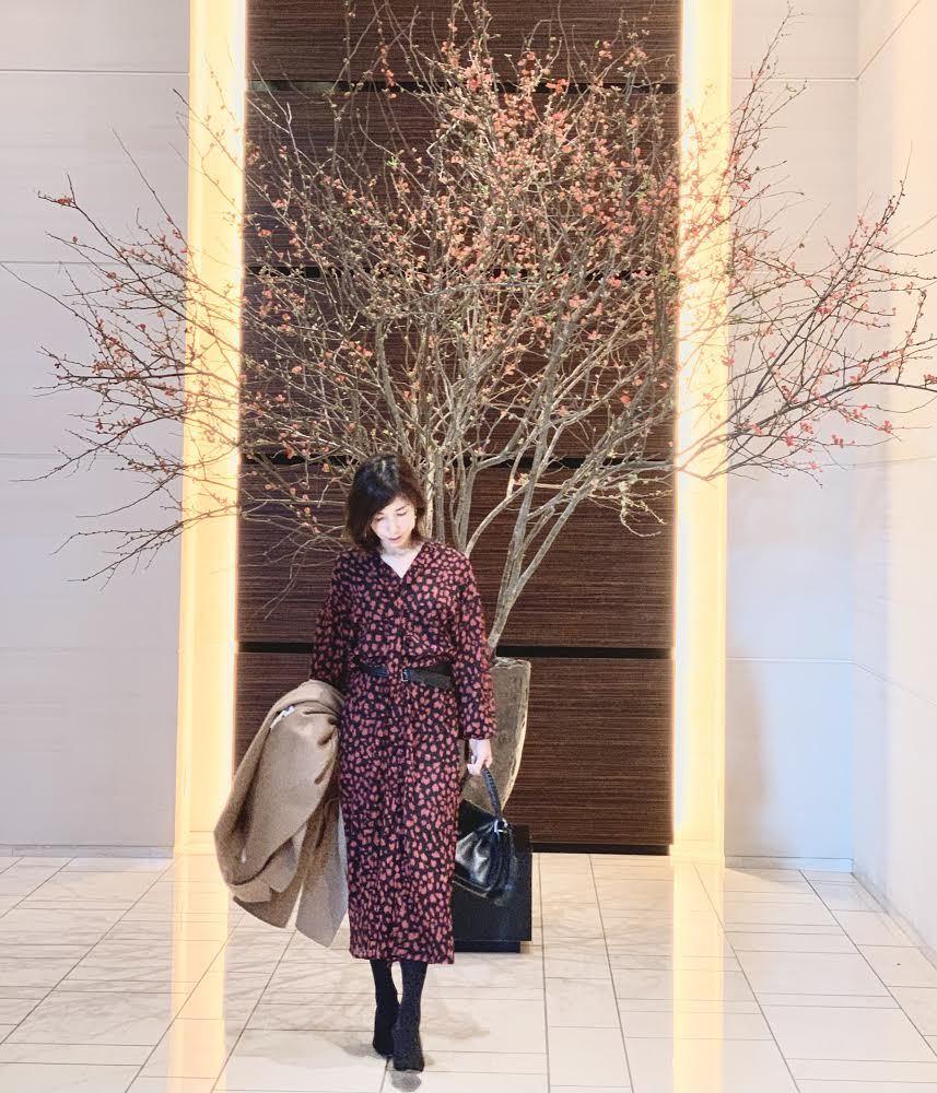 フェミニン服でコンラッド東京へ_1_2-1