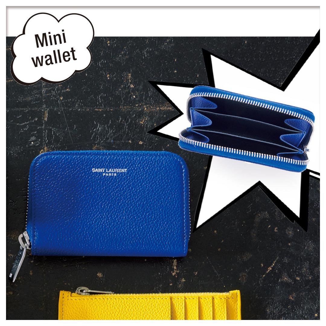COIN&CARD WALLET|サンローランミニ財布