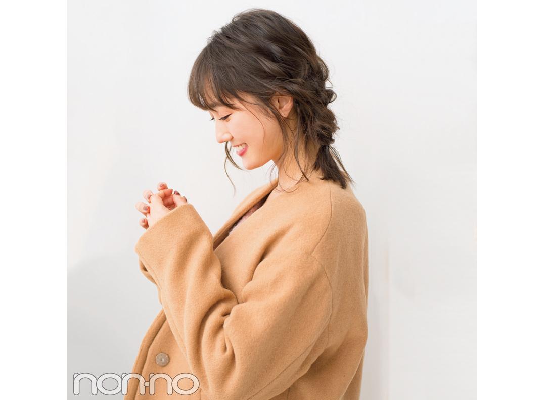 読者アンケートで好きなヘアアレンジ1位! 友菜の全方位映え三つ編み♡ _1_1-2